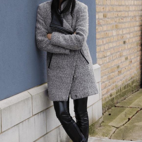 Calvin Klein Jackets & Coats - Calvin Klein asymmetrical coat.