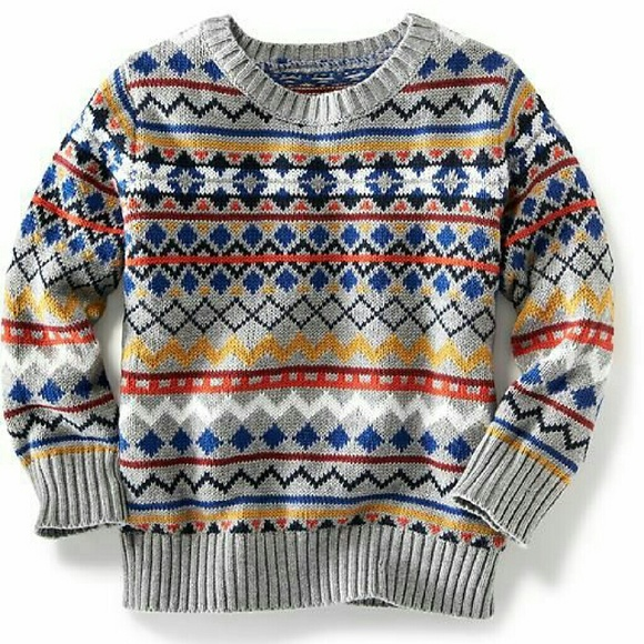 Old Navy - Toddler Fair Isle Sweater from Joy 💜suggested user💜's ...