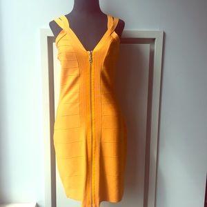 INC Zippered Bandage Dress