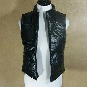Princess Vera Wang Pleather Vest