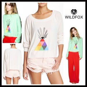 Wildfox Tops - ❗1-HOUR SALE❗WILDFOX PULLOVER All Seeing Eye