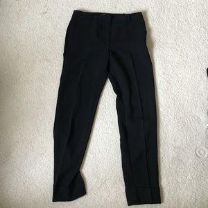NWOT Mango Black Highwaisted Trousers