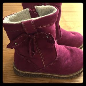 Other - Adorable little girls boots with warm insides
