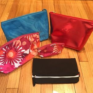 Makeup bags bundle