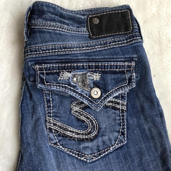 Silver Jeans - Silver Suki Flap Jeans size 28x32