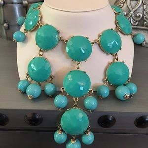 Ily Couture Jewelry - 🛍 Ily Couture Teal Beaded Statement Necklace