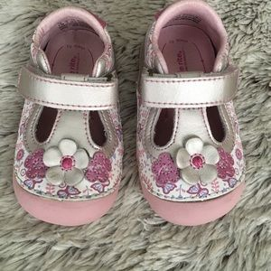Stride Rite Other - 🎀HP🎀Pink Cynthia Leather Stride Rite Shoes🎈EUC