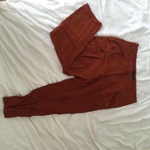 Zara orange pants size L