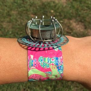 Lilly Pulitzer Jewelry - ✨🌾🎀 Gorgeous Stainless Steel Cuff🎀🌾✨