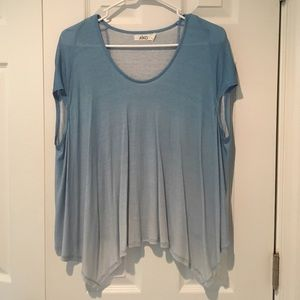 AIKO Tops - Aiko Blue Ombré sleeveless flowy top/tunic size XS