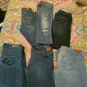 Size 4 and 6 American Eagle and Express Denim