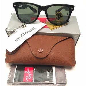 ... ray ban accessories ray ban original wayfarer sunglasses 2e983 480cb  inexpensive ray ban eyeglasses rx5121 2000 100 liked on polyvore featuring  ... 517d0117ff