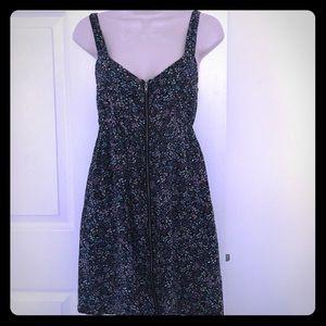 Be Bop zip up sleeveless dress with pockets