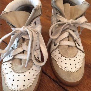 Isabel Marant wedge sneakers; size 38