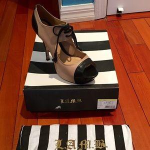 Authentic L.A.M.B designer heels