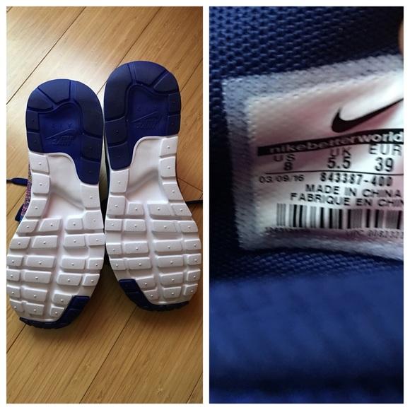Flyknit Nike Air Max Mujer Lápiz Labial Púrpura Negro OXy7oQ
