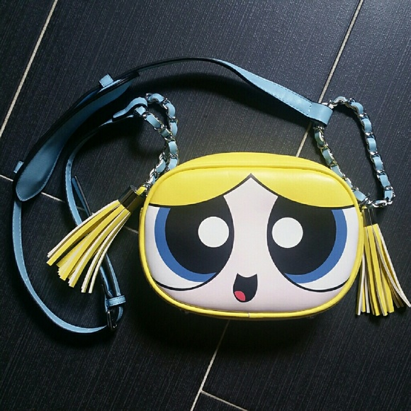 1afec8770d Bags | Powerpuff Girls Bubbles Messenger Bag | Poshmark