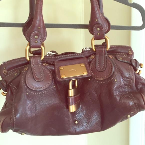 da2ae912424 Chloe Handbags - Chloe paddington buckle and lock shoulder bag