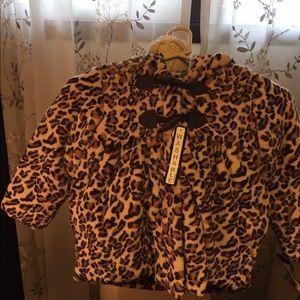 Rothschild Other - Rothschild Child's Faux Fur Leopard Coat New 5/6