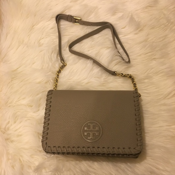 86a63c635bd NWOT Tory Burch Marion Combo Crossbody