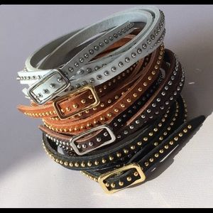 Leather Wrap Bracelets Adjustable