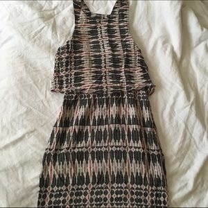 Dolce Vita | Tribal Print Open Back Dress (Size M)