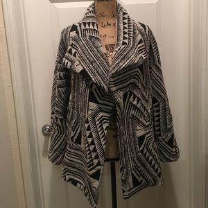 Zara Jackets & Blazers - Zara tribal patterned coat