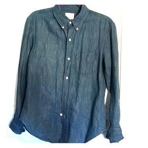 Band Of Outsiders Tops - Band of Outsiders denim shirt M