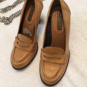 Banana Republic chunky heels