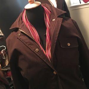 Style tip into winter in a Ralph Lauren coat!