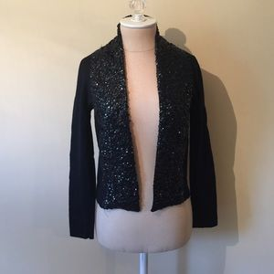 J. Crew Sequin Cardigan