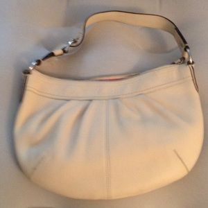 Coach Handbags - Coach F13730 pleated leather hobo