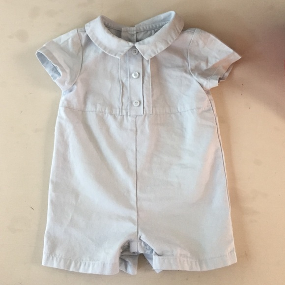 0e2e761f1 Janie and Jack Other - Janie and Jack Layette Blue Romper Boys 0-3 Months