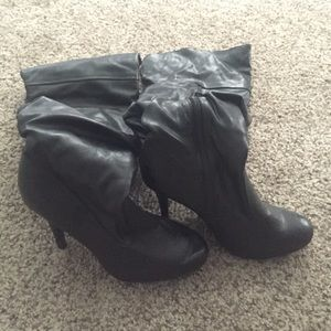 Rue21 Shoes - Knee high black boot