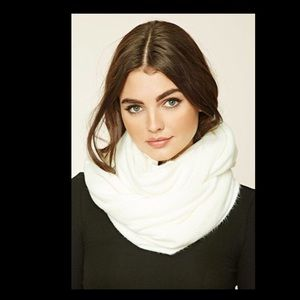 Accessories - Super Soft Cream Infinity Scarf