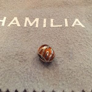 Chamilia PEAKS OF BRONZE Sterling silver charm