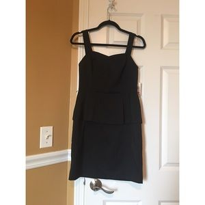 Kensie Black Peplum Dress