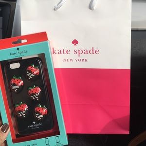 Accessories - Kate spade iPhone 6/6s cover.