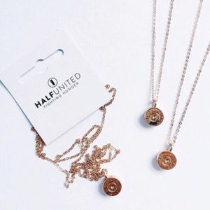 Half United Jewelry - HALF UNITED TINY TOP NECKLACE-ROSE GOLD NWT!