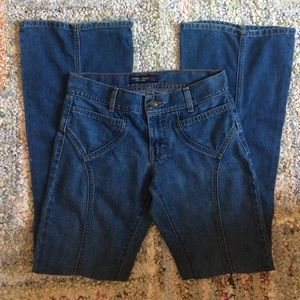 American Eagle Outfitters Denim - American Eagle jeans hippy retro flare