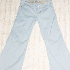 Light Blue Gap Wide Leg Jeans - Petite