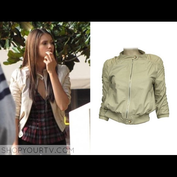 5860184ab9e7 KRMA Jade Leather Jacket ASO Elena Gilbert