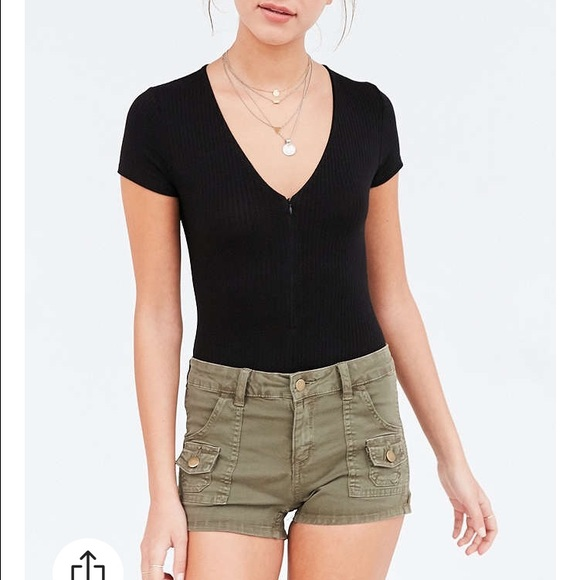 70% off BDG Pants - BDG High-Waisted Cargo Shorts from Elizabeth's ...