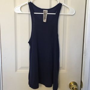 Free People Flared Ribbed Tank