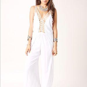 15120afaafac Indah Pants - INDAH Gypsy Lattice Petal Jumpsuit