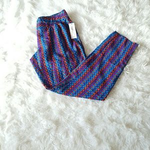 Bisou Bisou Pants - Bisou Bisou Geo Stripe Pant
