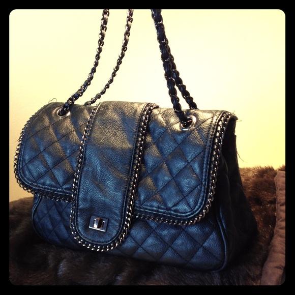 c92dfa6a9122 Big Buddha Handbags - Flash Sale Big Buddha Chanel Quilted Double Chain