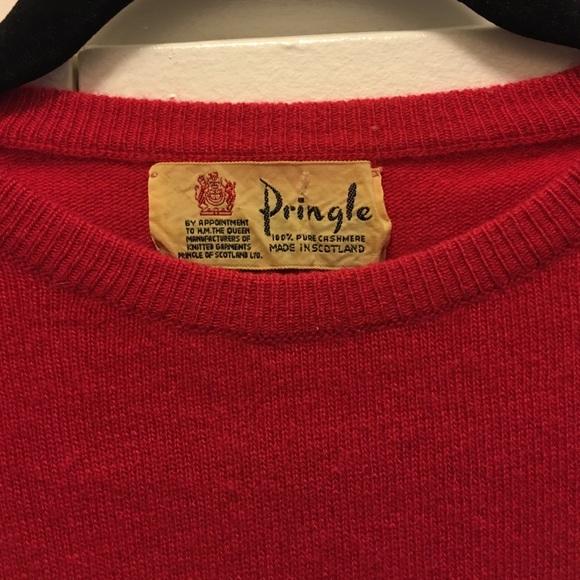 Pringle - Vintage Pringle of Scotland cashmere sweater from ...