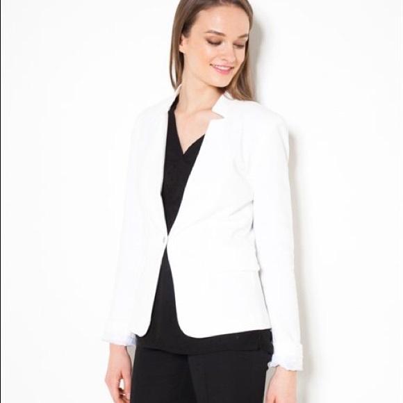 photos officielles 43485 a814d Camaieu Cream blazer size 6