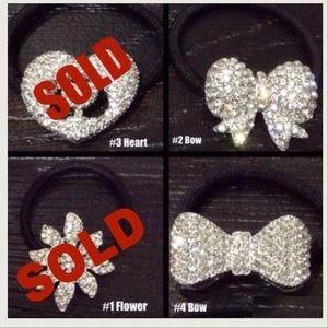 [ 2 left ] An Elastic hairband & or bracelet